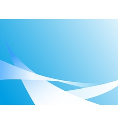 abstract light blue background with lines vector image