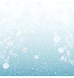Christmas abstract snowy background new year vector