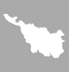 map of bremen vector image vector image