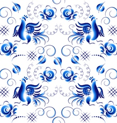 Pattern in Ghzel style vector image vector image