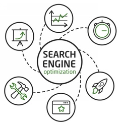 Search engine optimisation vector