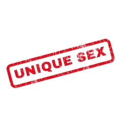 Unique sex rubber stamp vector