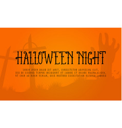 Background halloween night style collection vector