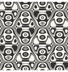 Abstract ornate seamless pattern vector