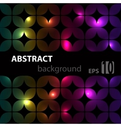 Multicolor modern geometrical abstract vector