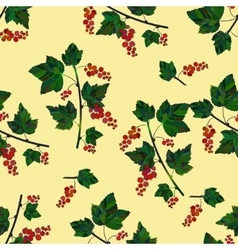 Red berries template vector