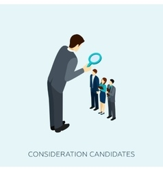 Choosing a candidate concept vector