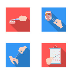 Dental care wound treatment and other web icon in vector