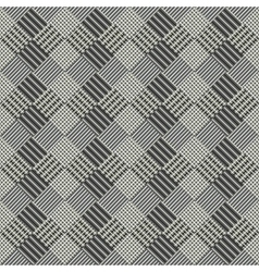 Seamless abstract ornament of squares vector
