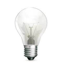 Lightbulb vector image