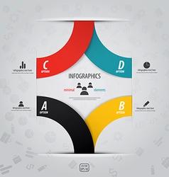 infographics design 10 vector image