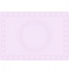 blank certificate vector image