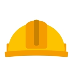 Helmet construction isolated icon design vector