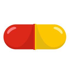 Aspirin icon cartoon style vector