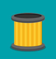 car filter icon flat vector image