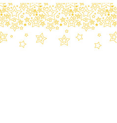 Color line stars christmas decoration backgroud vector