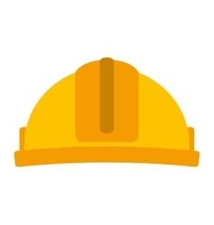 helmet construction isolated icon design vector image