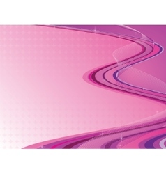 Pink abstract composition vector