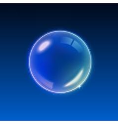 Transparent multicolored soap bubbles background vector