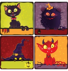 hallowensqweaaa vector image