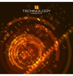 Technology background with circuit boards elements vector