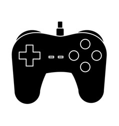 console gamepad symbol vector image vector image