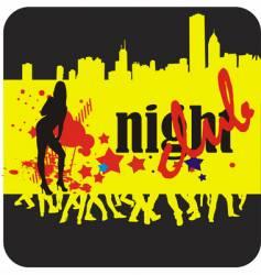 nightclub vector image vector image