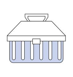 Tools box kit vector