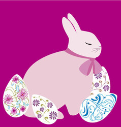 Easter bunny 5 vector