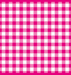 Pink white seamless pattern traditional fabric vector