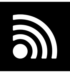 The wireless icon wifi symbol vector image vector image