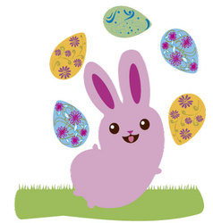 Easter bunny 6 vector