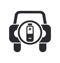 car energy icon vector image