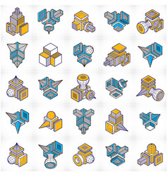 Abstract construction isometric designs set vector