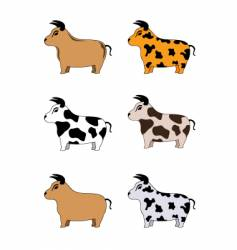 bull vector image