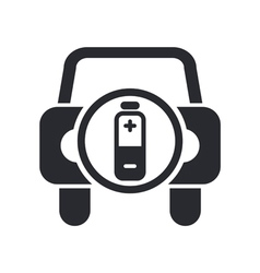 car energy icon vector image vector image