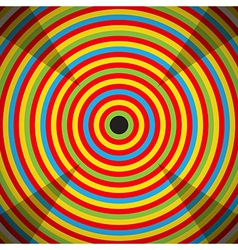 Colorful Target vector image vector image
