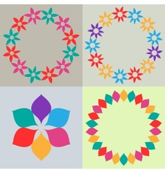 Template backgrounds vector image vector image