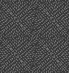 Small strokes forming squares on black vector