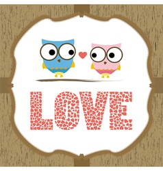 In love card3 vector