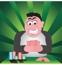 card game vector image