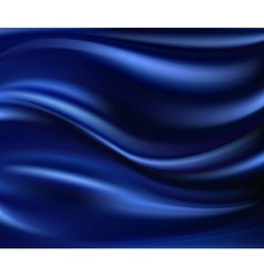 Abstract Texture Blue Silk vector image vector image