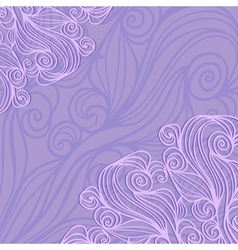 Background With Lacy Pattern vector image vector image