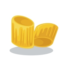 food of wheat Italian cuisine vector image