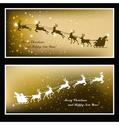 holiday cards vector image vector image