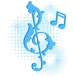 musical symbol vector image