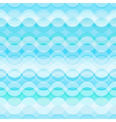 Seamless retro abstract geometric pattern vector image