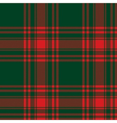 Menzies tartan green red kilt skirt fabric texture vector
