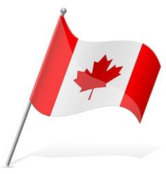 Flag of canada vector