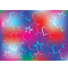 holiday congratulation card vector image vector image